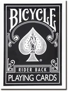 Bicycle Standard Rider Back Black