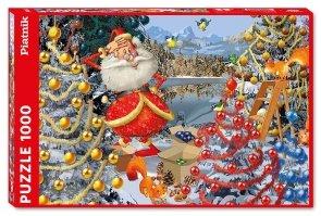 Puzzle Ruyer, Dekoracje Świąteczne 1000el.