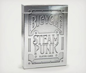 Karty Bicycle SteamPunk Silver