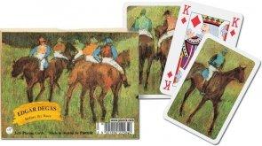 Karty Piatnik Degas - Przed wyścigiem