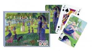 Karty Piatnik Seurat, Grande Jatte