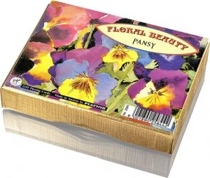 Floral Beauty - Pansy - 2 talie