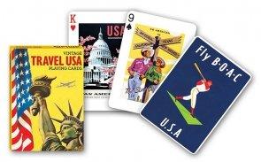 Karty Vintage Travel USA