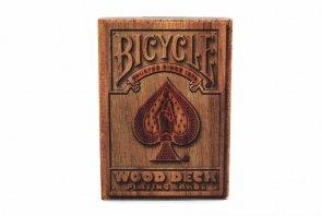 Karty Bicycle Wood