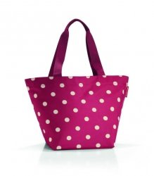 Torba na zakupy Shopper M kolor Ruby Dots, firmy Reisenthel