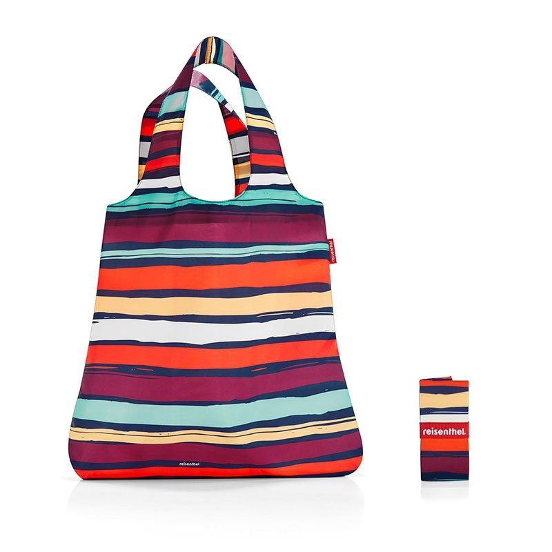 Siatka na zakupy Mini Maxi Shopper kolor Artist Stripes, firmy Reisenthel