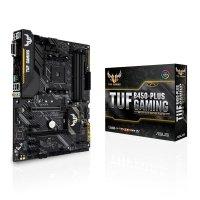 Płyta główna TUF B450-PLUS GAMING AM4 4DDR4 DVI/HDMI/M.2 ATX