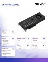 Karta graficzna GeForce RTX 2060 XLR 6GB VCG20606BLMPB