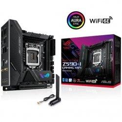 Płyta Asus ROG STRIX Z590-I GAMING WIFI /Z590/DDR4/SATA3/M.2/USB3.2/WiFi/BT/PCIe4.0/s.1200/mITX