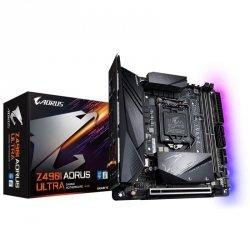 Płyta Gigabyte Z490I AORUS ULTRA/Z490/DDR4/SATA3/M.2/USB3.1/PCIe3.0/s.1200/mITX