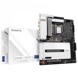 Płyta Gigabyte Z590 VISION D (rev. 1.0)/Z590/DDR4/SATA3/M.2/USB3.1/PCIe3.0/s.1200/WIFI/BT/ATX