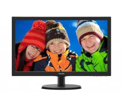 Monitor 21.5 223V5LHSB2/00  LED HDMI Czarny