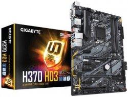 Płyta główna H370 HD3 s1151 4DDR4 HDMI/DVI/VGA M.2 ATX