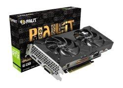 Karta graficzna GeForce RTX 2060 DUAL 6GB GDDR6 192bit DP/DVI-D/HDMI