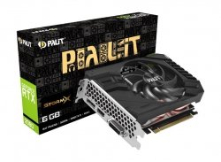 Karta graficzna GeForce RTX 2060 StormX mini ITX 6G GDDR6 192BIT DVI-D/HDMI/DP