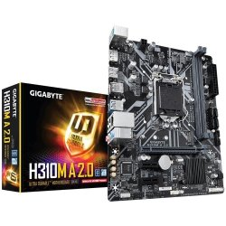 Płyta główna H310M A 2.0 s1151 2DDR4 DP/HDMI/USB3/M.2 UATX