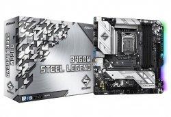 Płyta główna B460M Steel Legend s1200 4DDR4 HDMI/DP M.2 ATX