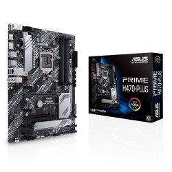 Płyta główna PRIME H470-PLUS s1200 4DDR4 DP/HDMI USB3.2 ATX