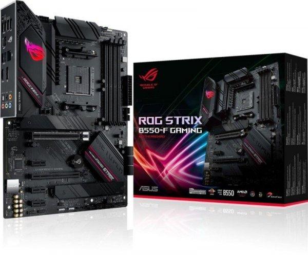 Płyta Asus ROG STRIX B550-F GAMING /AMD B550/SATA3/M.2/USB3.1/PCIe4.0/AM4/ATX