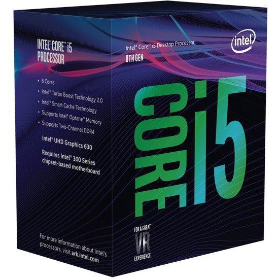 Intel i5 9400F 6 rdzeni / GTX 1650 / 8GB /SSD+1TB