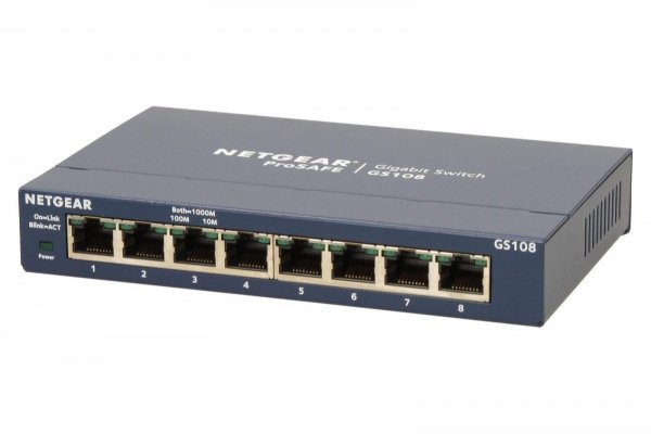 Switch Unmanaged Plus 8xGE - GS108GE