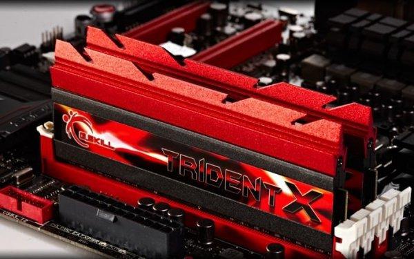 DDR3 16GB (2x8GB) TridentX 2133MHz CL9 XMP