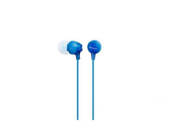 Słuchawki EX Serie 9mm MDR-EX15LP blue