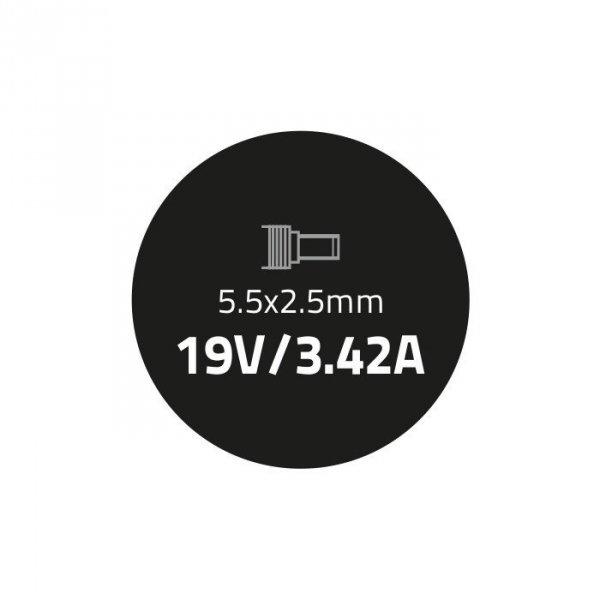 Zasilacz dedykowany do Asus 65W   19V   3.42A   5.5*2.5