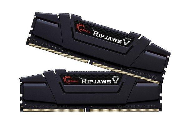 Pamięć DDR4 8GB (2x4GB) RipjawsV 3200MHz CL16 rev2 XMP2 czarny