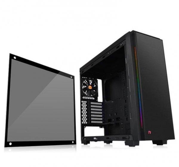Versa C23 RGB USB3.0 Black - Tempered Glass