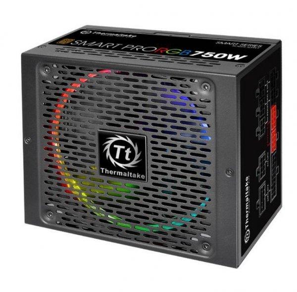 Smart Pro RGB 750W Modular (80+ Bronze, 4xPEG, 140mm, Single Rail)