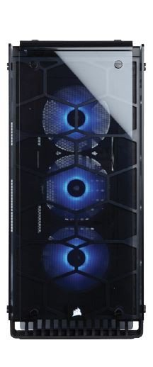 Crystal Series 570X RGB Mirror BlackTempered Glass, Premium ATX Mid Tower Case