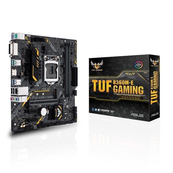 Płyta główna TUF B360M-E GAMING s.1151 2DDR4 DVI/HDMI M.2 uATX