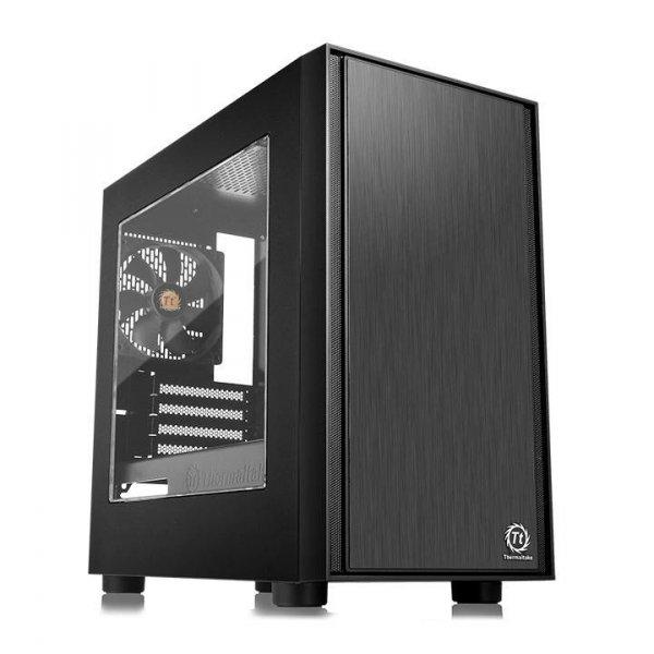 Versa H17 microATX USB3.0 Window - Black