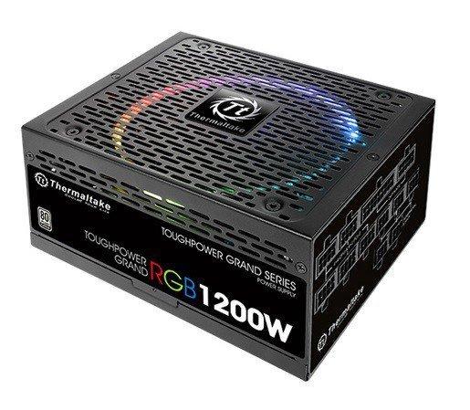 Toughpower Grand Riing 1200W Platinum 230V, 8xPEG, 14cm