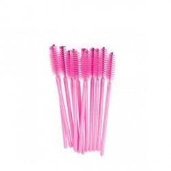 Pettini rosa per ciglia 10 pezzi