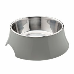 Melamine bowl ATLANTA gray