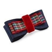 Spinka LOVELY w czerwoną kratkę + woreczek