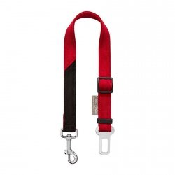 Safety seatbelt DAKAR red