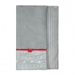 Blanket SCANDI gray