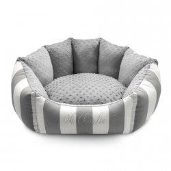 Bed LISBON gray