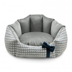Bed GLAMUR gray