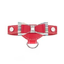 Luxurious PRESTIGE collar  red for small dogs