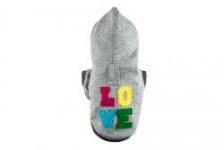 Bluza LOVE szara