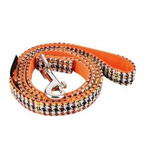 Smyczdla psa AUDEN pomarańczowa