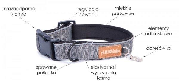Classic gray collar