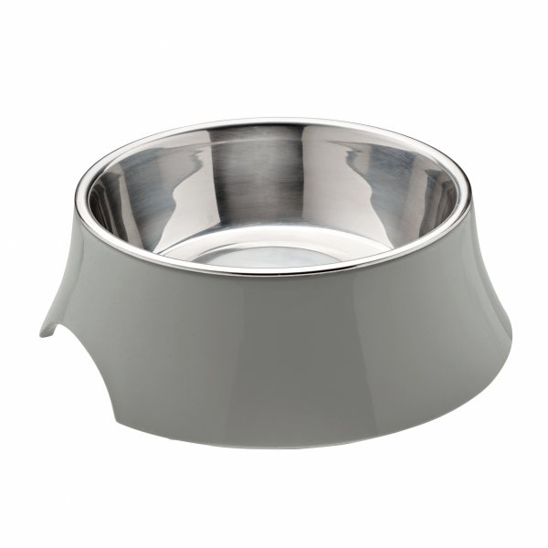 Melamine bowl ATLANTA gray Hunter