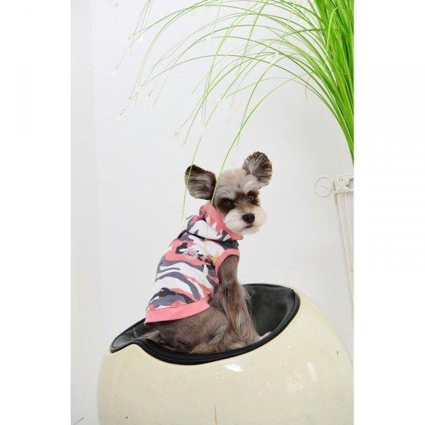 Bluza z kapturem w moro od Puppia