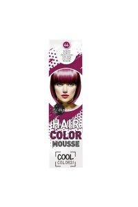 Elysee koloryzująca pianka do włosów 75 ml. Kolor burgund - purpurowy. Nr 44.
