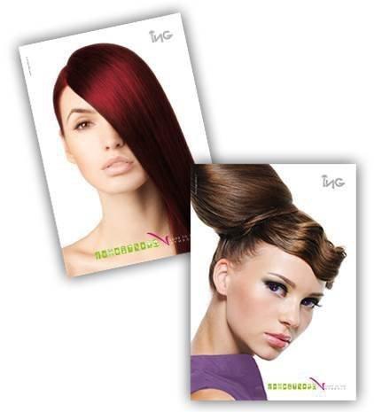 ING Coloring Cream 100 ml - odcień: 7.66 Intensywny Czerwony Blond (Czerwienie)